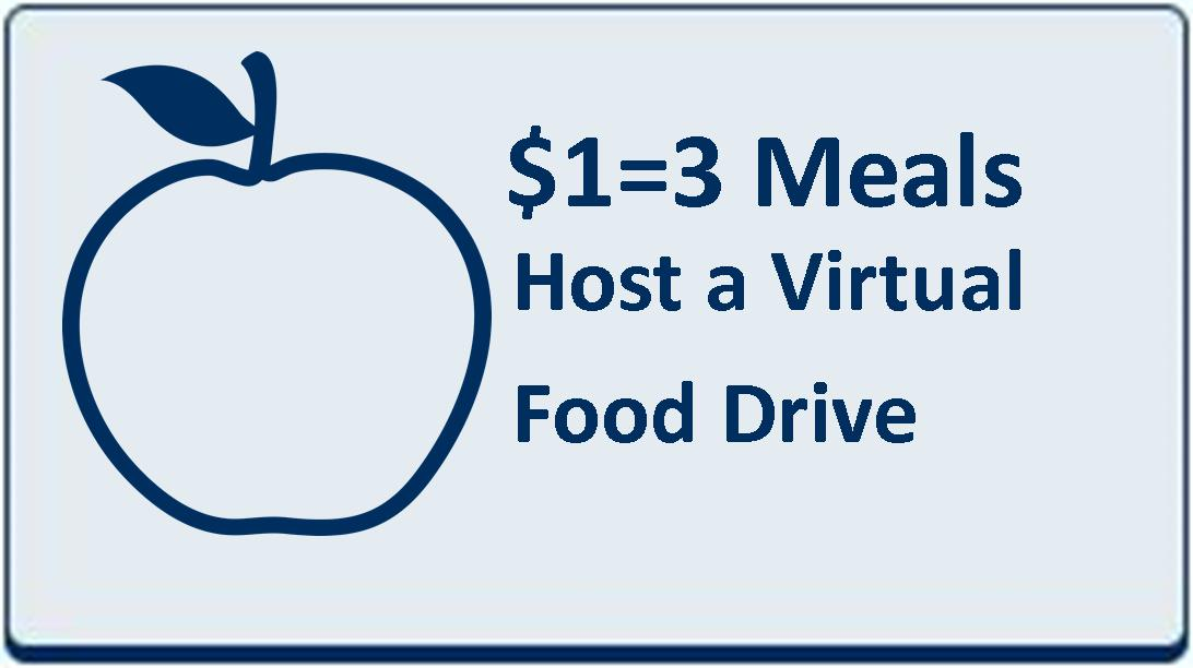 Web Site Blue Button - Virtual Food Drive