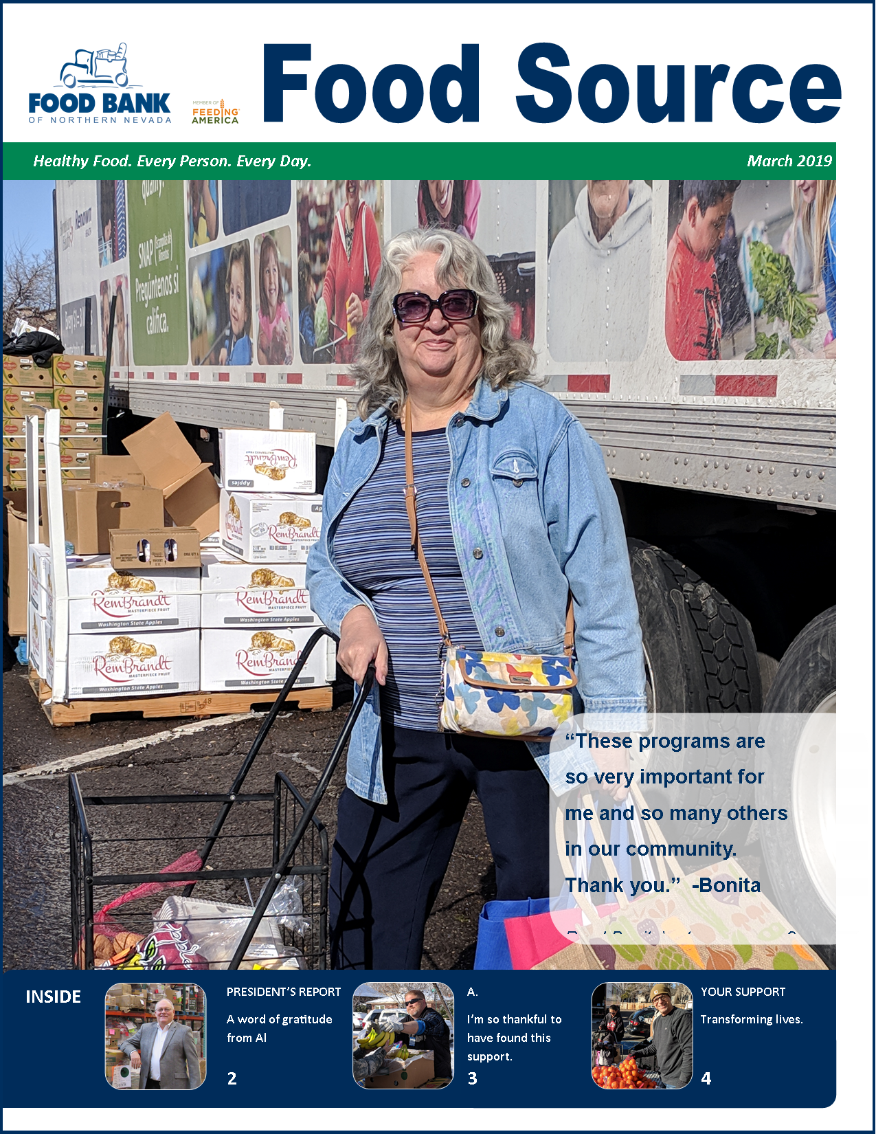 March 20198 Food Source Newsletter | Food Bank of Northern Nevada