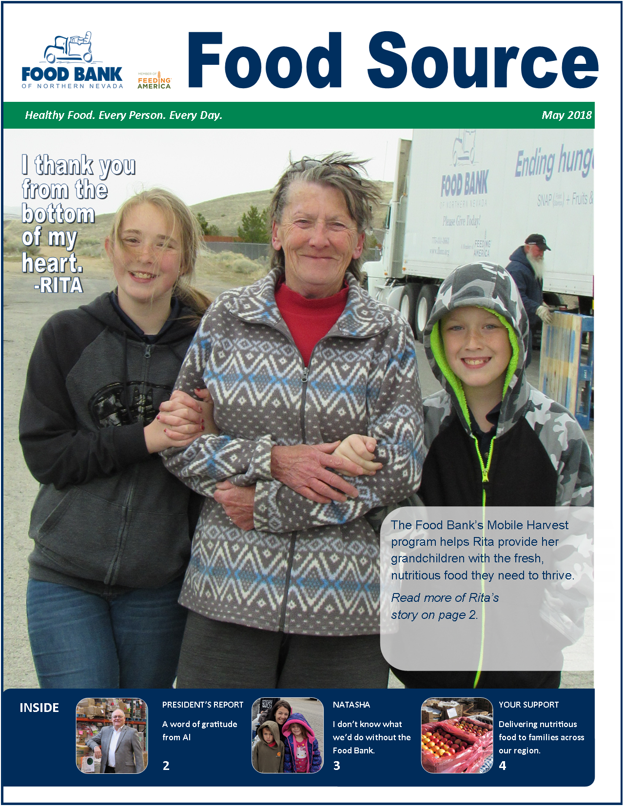 May 2018 Food Source Newsletter | Food Bank of Northern Nevada