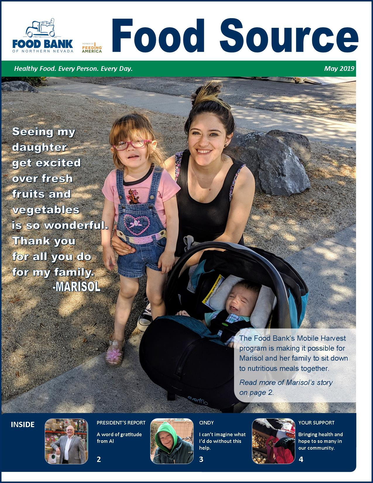 May 2019 Food Source Newsletter   Food Bank of Northern Nevada