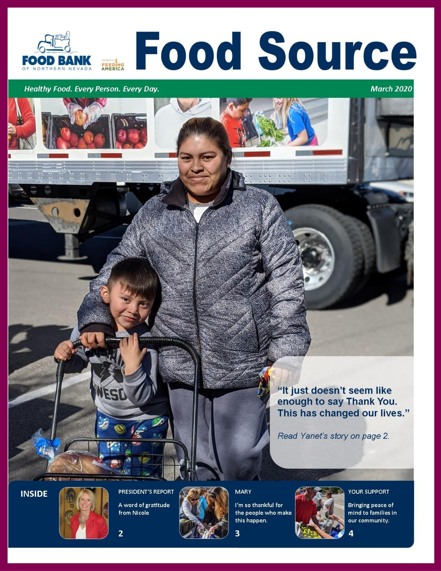 March 2020 Food Source Newsletter   Food Bank of Northern Nevada