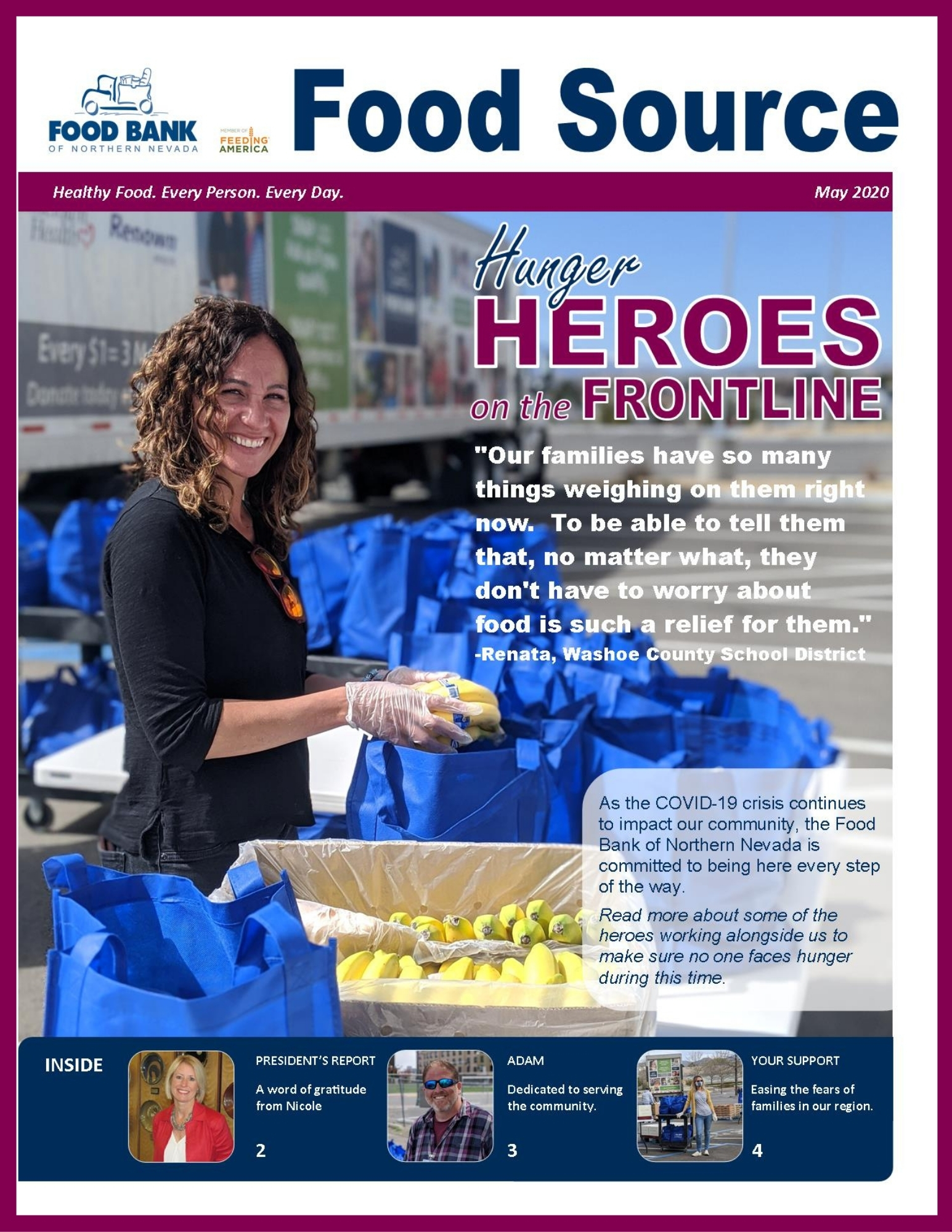 May 2020 Food Source Newsletter | Food Bank of Northern Nevada